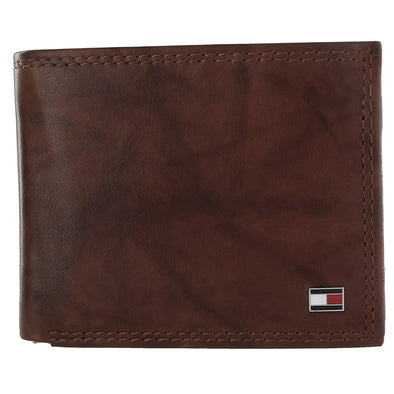 Men's Huck Leather Traveler Passcase Bifold Wallet