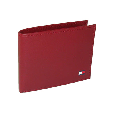 Men's Leather Bold Passcase Billfold Wallet