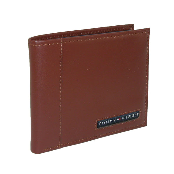 Men's Leather Cambridge Billfold Passcase Wallet
