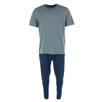 Men's Knit Tee an Lounge Pant Pajama Set