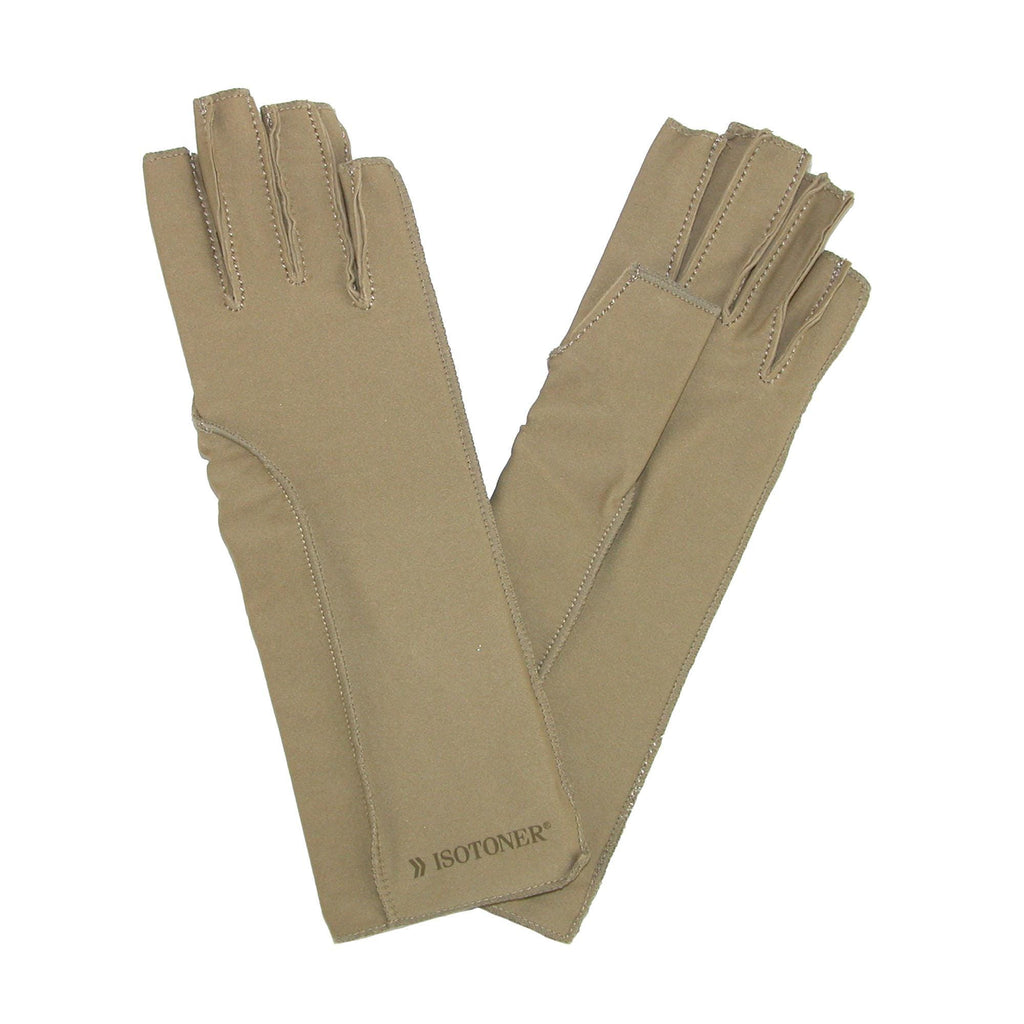 Fingerless gloves isotoner - Isotoner Therapeutic Compression Fingerless Gloves