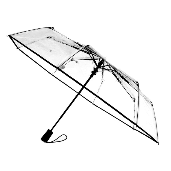 Women's Ultra Clear Auto Open Compact Umbrella