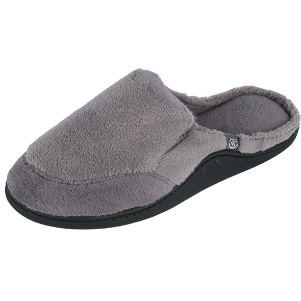 Men's Microterry Open Back Clog Slippers
