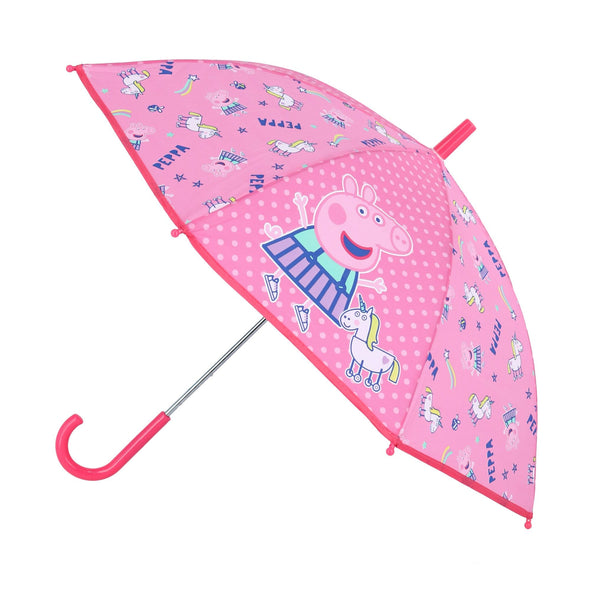 Kid's Nickelodeon Peppa Pig Stick Umbrella