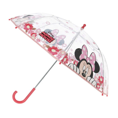 Disney Kid's Minnie Mouse Transparent Bubble Stick Umbrella