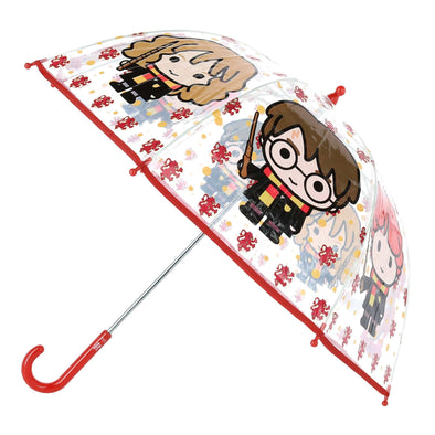 Kid's Harry Potter Transparent Bubble Stick Umbrella