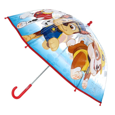 Kid's Nickelodeon Paw Patrol Transparent Stick Umbrella