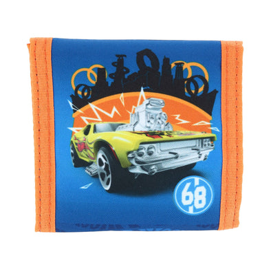 Kid's Hot Wheels Wallet with Hook & Loop Closure
