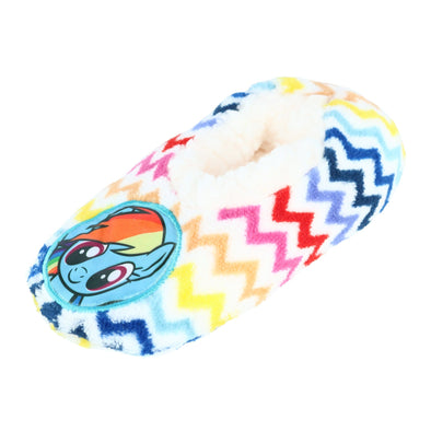Girl's My Little Pony Rainbow Chevron Slippers