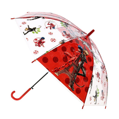 Kid's Miraculous Ladybug Fight Evil Stick Umbrella