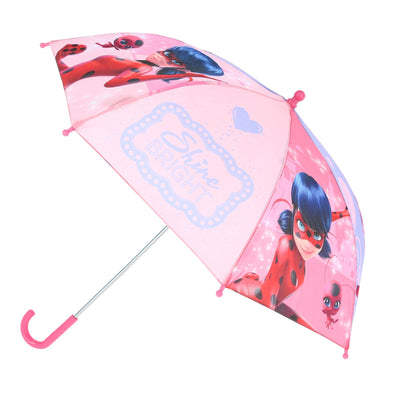 Kid's Miraculous Ladybug Stick Umbrella