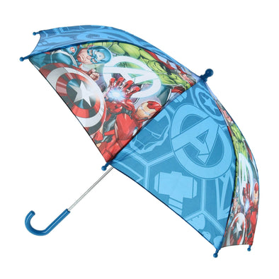 Kid's Marvel Avengers Superhero Stick Umbrella