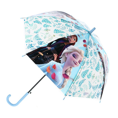 Kid's Disney Frozen II Anna & Elsa Stick Umbrella