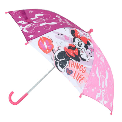 Kid's Disney Minnie Mouse Things in Life Stick Umbrella