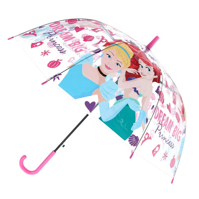 Kid's Disney Princess Transparent Bubble Stick Umbrella