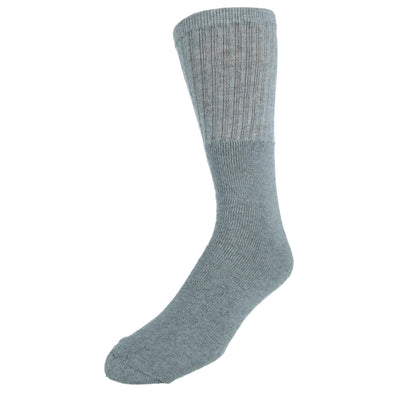 Men's Tube Cotton Blend Casual Socks 4 Pair Value Pack