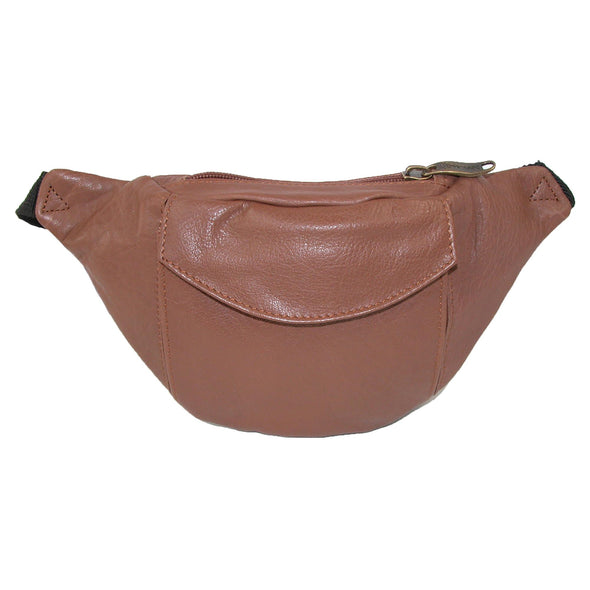 Top Grain Leather Waist Pack