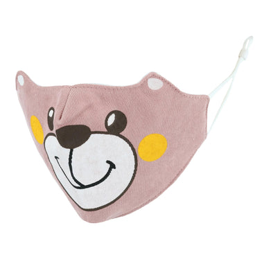 Toddler's Bobbie Bear Animalz Reusable Face Mask
