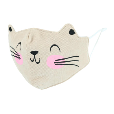 Toddler's Cameron Kitty Animalz Reusable Face Mask