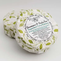 Peppermint Citrus Rosemary Solid Shampoo Bar - All Natural