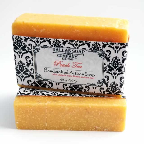 Peach Tea Shea Butter Soap