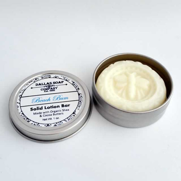 Beach Bum Lotion Bar