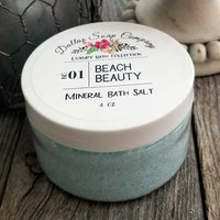 Beach Beauty Bath Salt Dallas Soap Company