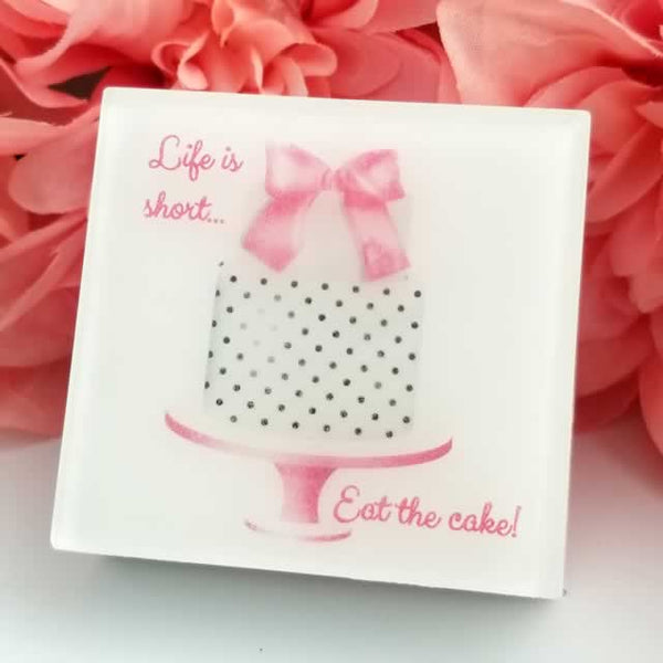 Life is Short Eat the Cake Soap by Dallas Soap Company