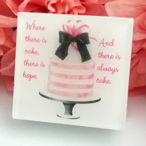 Where There is Hope Cake Soap
