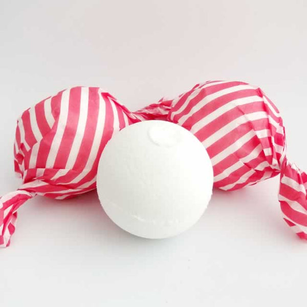 Candy Cane Bath Bomb Fizzies