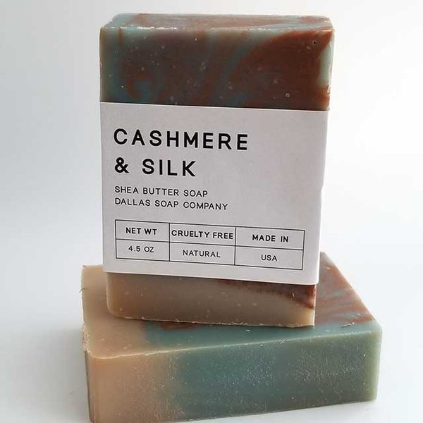 Cashmere & Silk Shea Butter Soap