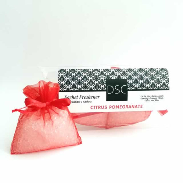 Citrus Pomegranate Sachet - Dallas Soap Company DSC