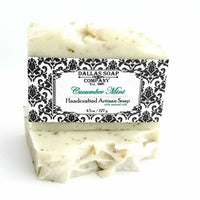 Cucumber Mint Artisan Soap