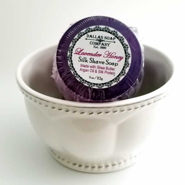 Lavender Honey Silk Shave Soap