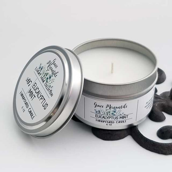 Eucalyptus Mint Candle - Dallas Soap Company / Grace Mercantile