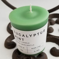 Eucalyptus Mint Candles Votives Dallas Soap Company