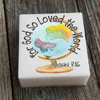 For God So Loved the World Soap Dallas Soap Company