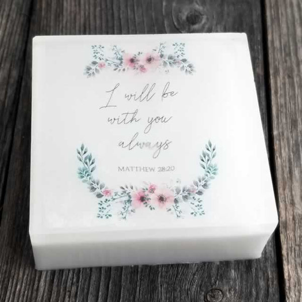 I Will Be With You Always Scripture Soap by Dallas Soap Company