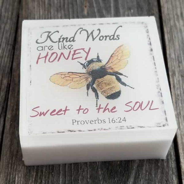 Kind Words are like Honey Soap by Dallas Soap Company