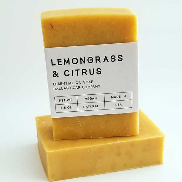 Lemongrass & Citrus Essential Oil Soap