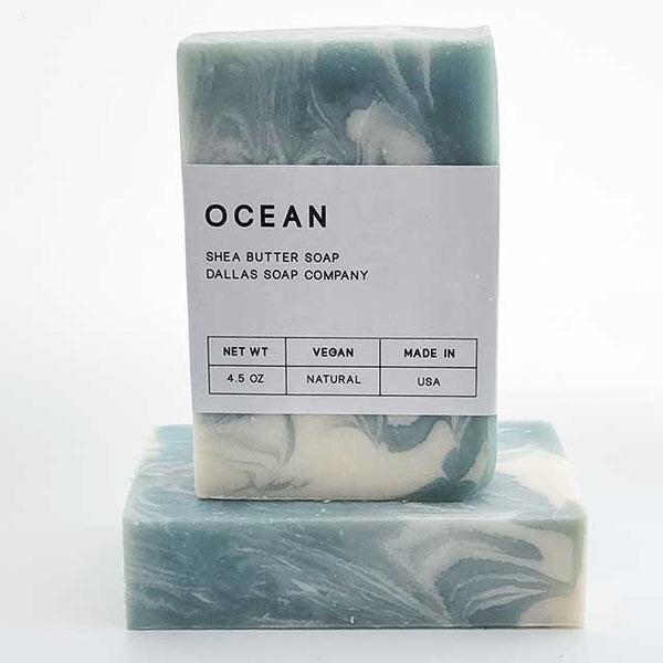 Ocean Soap Dallas Soap Company Handmade in USA