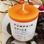 Pumpkin Spice Votives Grace Mercantile