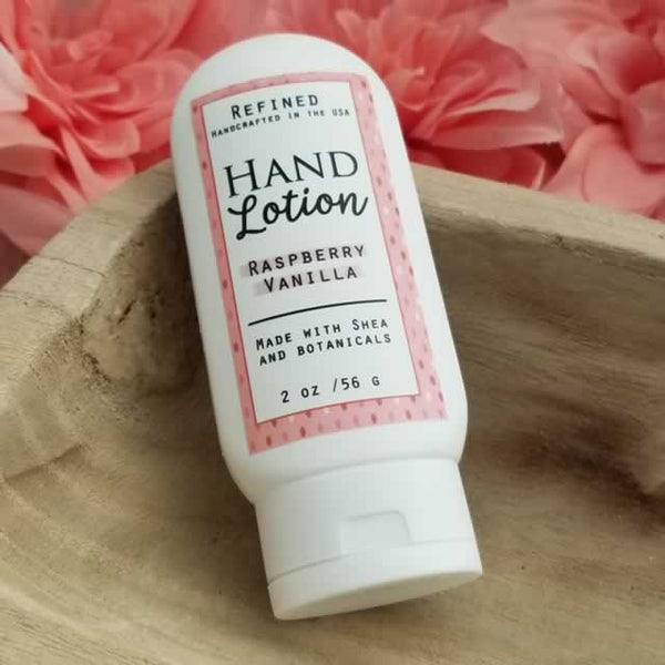 Refined™ Travel Size Hand Lotion Raspberry Vanilla