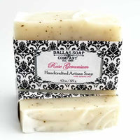 Rose Geranium Soap by Dallas Soap Company