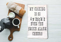 Funny Sarcastic Tea Towel Bad Cook