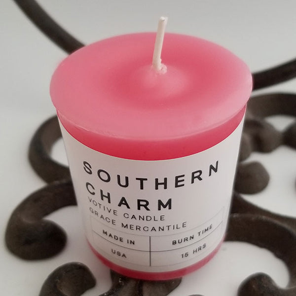 Southern Charm Votive Candle Dallas Soap Company
