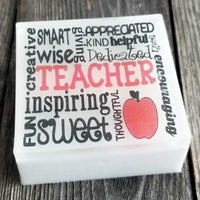 Teacher Appreciation Soap Gift