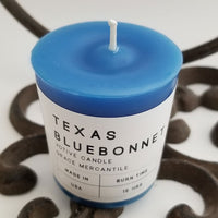Texas Bluebonnet Votive Candle Dallas Soap Company