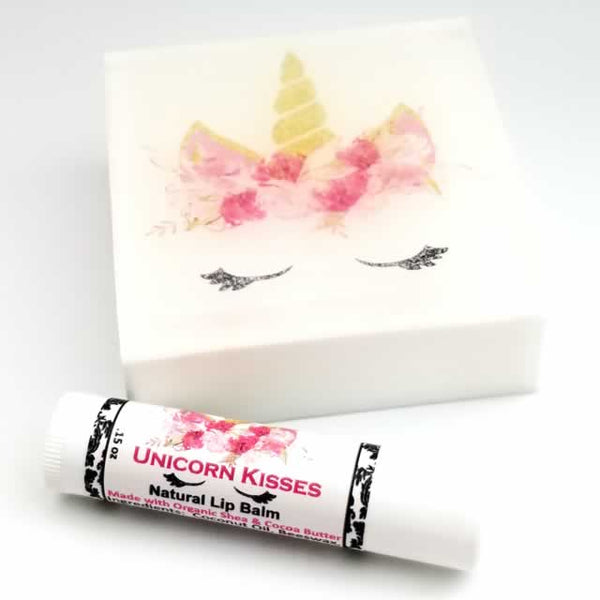 Unicorn Soap and Lip Balm by Dallas Soap Company