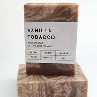 Vanilla Tobacco Soap - Handmade Soap Dallas